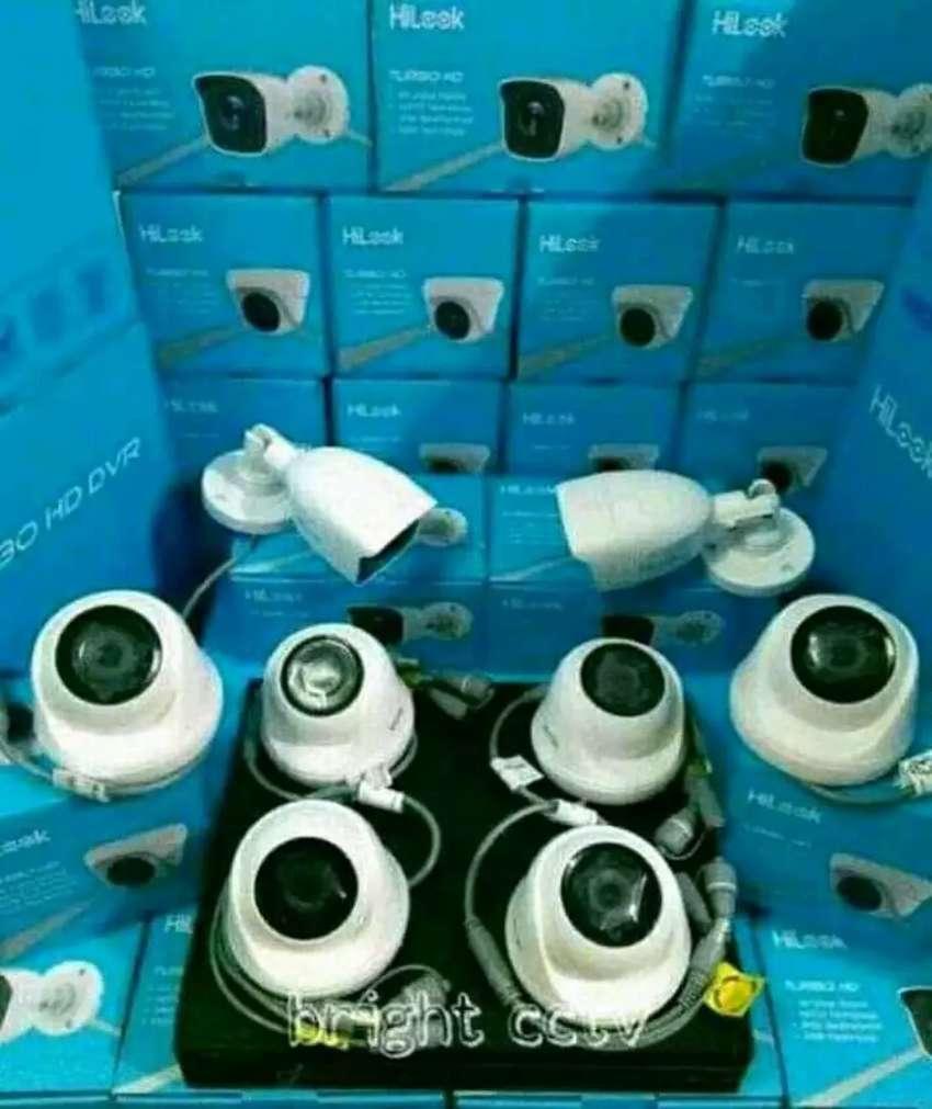 Kamera cctv super lengkap berkualitas dan bening 0