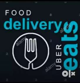 Urgent hiring for delivery boys in the uber eats