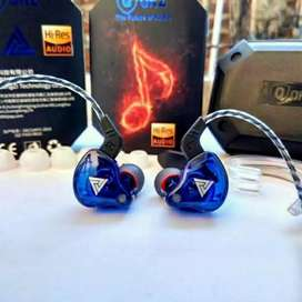 Headset QKZ AK6 PRO Original By Zenith Extra Bass