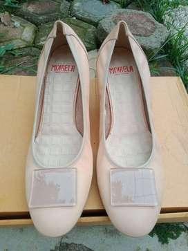 Heels Mikaela - Cream Size 41