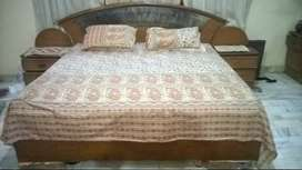Double Bed, Side Corner & Dressing Table