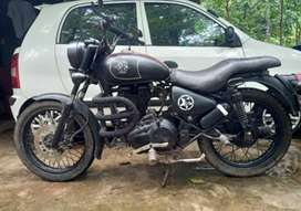 Altered royal Enfield