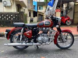 Royal enfield classic 350 2017 model 1st owner