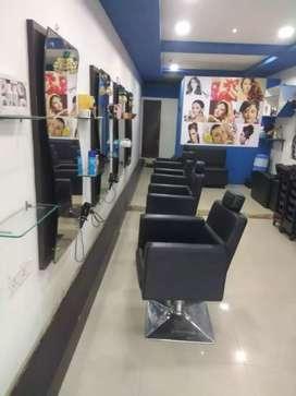 Family salon for sale in vapi chala road near reliance petrol pump