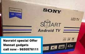 """40 inch smart LED TV """" Sunday full paisa vasool offer """""""