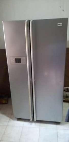 LG 580 lt Side by Side Refrigerator