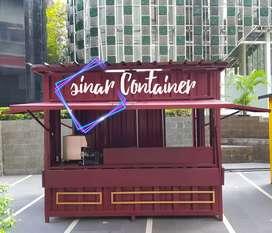 Booth container booth jualan booth bazar booth dimsum gerobak martabak