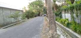 Tanah pinggir jalan hotmix