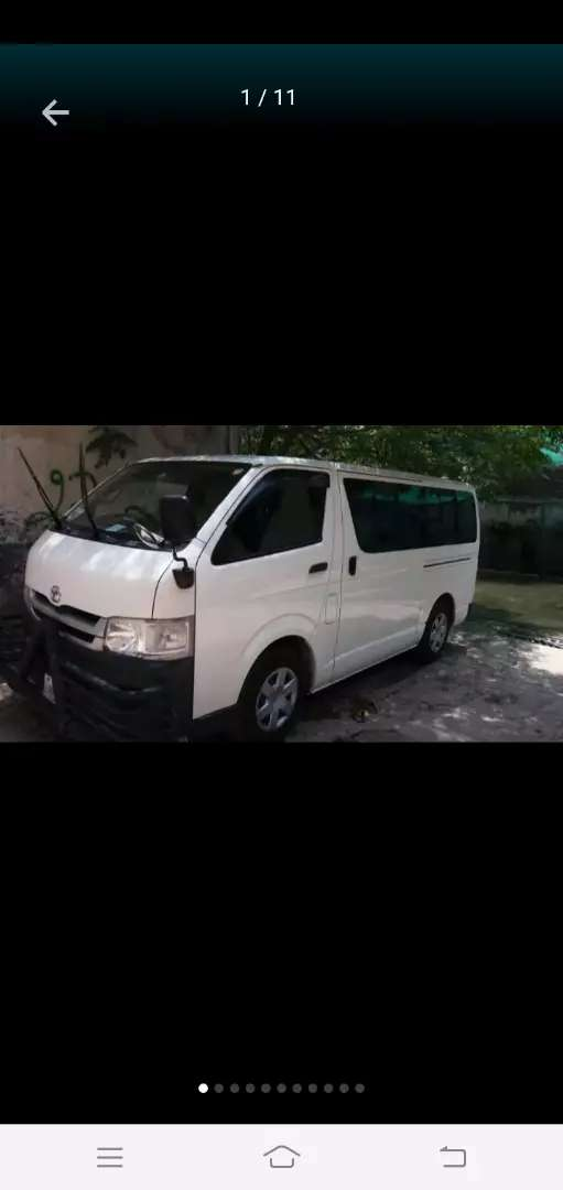 Toyota Hiace Total Original condition. 0