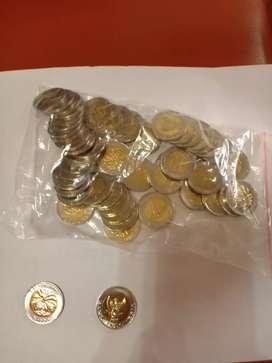 Jual koin pecahan 1000 rupiah kelapa sawit