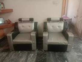 5 seater sofaset  new condition used