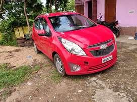 Chevrolet BEAT LT 2012 RED Diesel