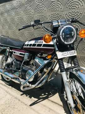 Rx 100 modified as Rx 135. 5speed