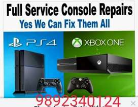 PS4 Xbox one xbox360 PS3 PSP PS2 Wii ds XL 3ds repair free pick up