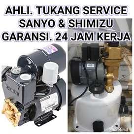 GARANSI.TUKANG service Sanyo & Shimizu, instalasi air.jujur,cepat,t.