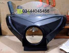 Headlight fairing for gs 150 and Ybr 125