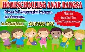 Homeschooling anak bangsa menerima murid baru, dan kejar paket A, B, C