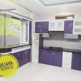 Rumah baru furniture baru. Kitchenset Backdrop Skat ruang dll