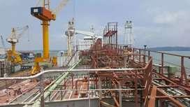 Jual kapal tengker DWT 24 Ribu ton thn 2018 kondisi baru hub miss palu