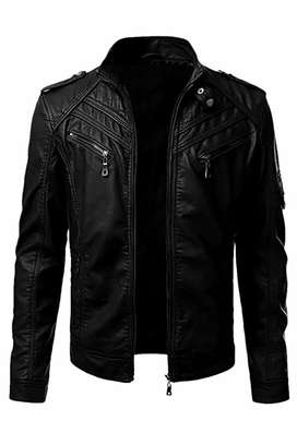 Men leather jacket cash on delivery available
