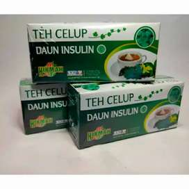 teh celup daun insulin herbal alami