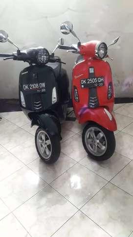 Vespa Primavera 2015 cash Kredit Bali dharma motor
