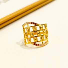 Cincin Emas asli model gold