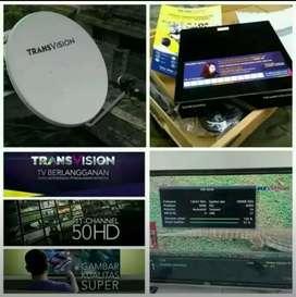 *Special Transvision HD resmi Lombok paket setahun Bonus all chl*