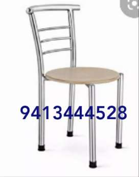 New ss frame restaurant chair with top