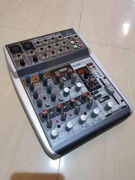 Mixer Behringer QX1002USB lengkap