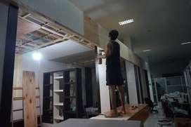 Jasa Pembuatan Furniture dan Meubel (Kitchen Set, Lemari, Rak TV)