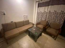 Sofa Set & Tea Table