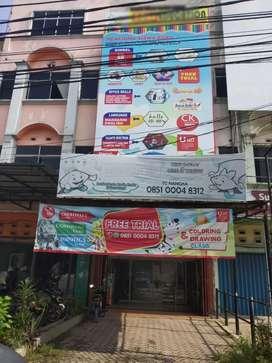 Dijual Ruko 4 lantai di Jl Tuanku Tambusai, dekat Living World
