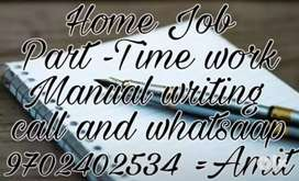 Hand Writing paper work weekly 13000