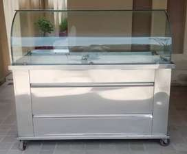 Solif Stainless Steel Counter like new