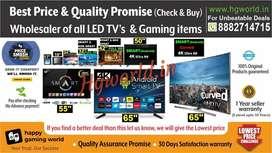 Wholesale Price Led Tvs All Sizes Smart\NonSmart\4K Uhd | Gaming Items