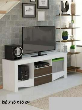 Meja/rak/bufet/lemari TV 150x40x60cm. Cantik.