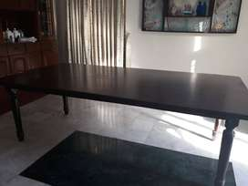 Must sell urgently- Dining table for 8 persons
