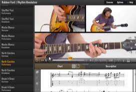 Video pelajaran Gitar Blues Metal Jazz Fusion Rock