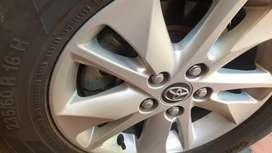 Brand new Innova  crysta alloy wheels