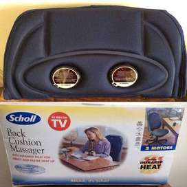 Dr.Scholl Back Cushion Massager With Infrared Heat
