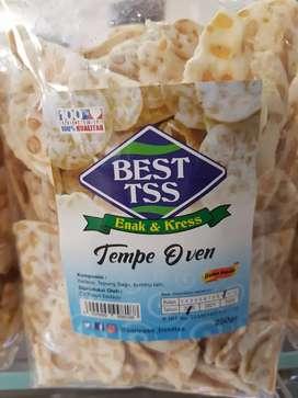 Tempe Oven BEST TSS brt barang 250 gram-isi 2 pack-Baru
