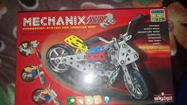 Mechanix engineering system for creative kids