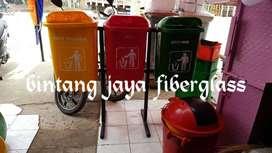 tempat sampah fiberglass, bak sampah fiber