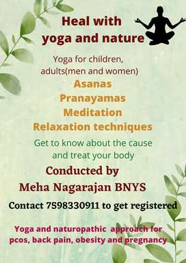 Online yoga and naturopathy approach