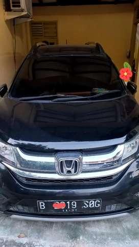 Dijual Mobil Honda BRV Automatic Hitam Tahun 2016