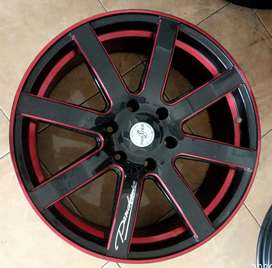 Velg racing Ring 20x8.5 h6x139.7 et35 cocok untuk Fortuner Pajero