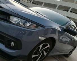Honda civic 2018 for rent with driver