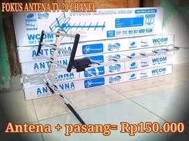 Fokus antena tv garansi bagus 20 chanel