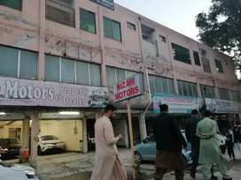 7000 sq feet space available in Peshawar sadar